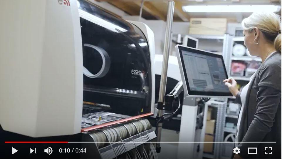 Video osazování plošných spojů
